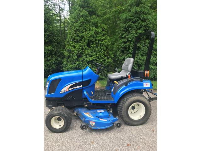 New Holland tractor in Chardon, Geauga County, Ohio - Genesee County